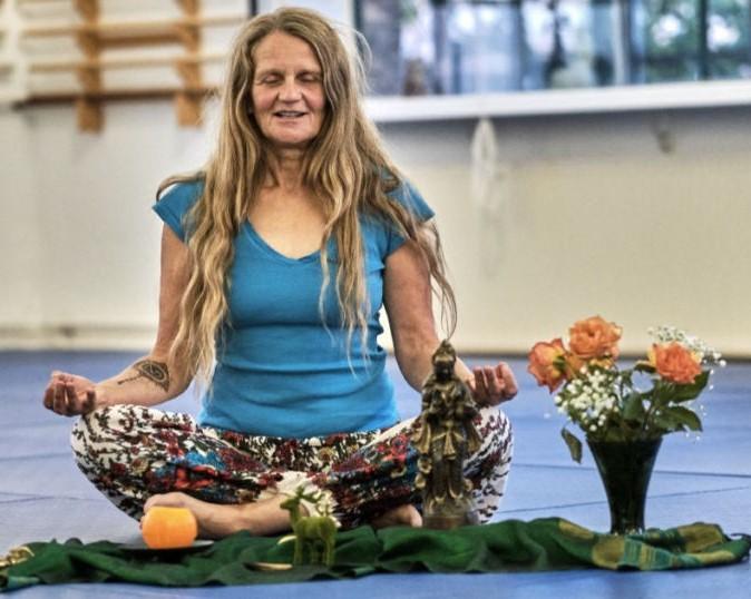 Meditation Vesica piscis im Stein